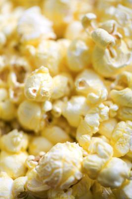 Pop-corn 100g Calories : 390 kCal, Protides : 11 g