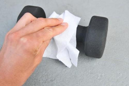 Comment nettoyer poids Up Barbell