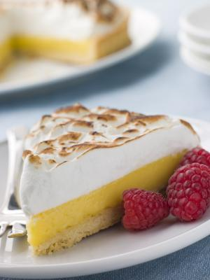 Combien de calories à Lemon Meringue Pie?