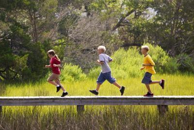 Comment aider un 4-Year-Old Run Faster